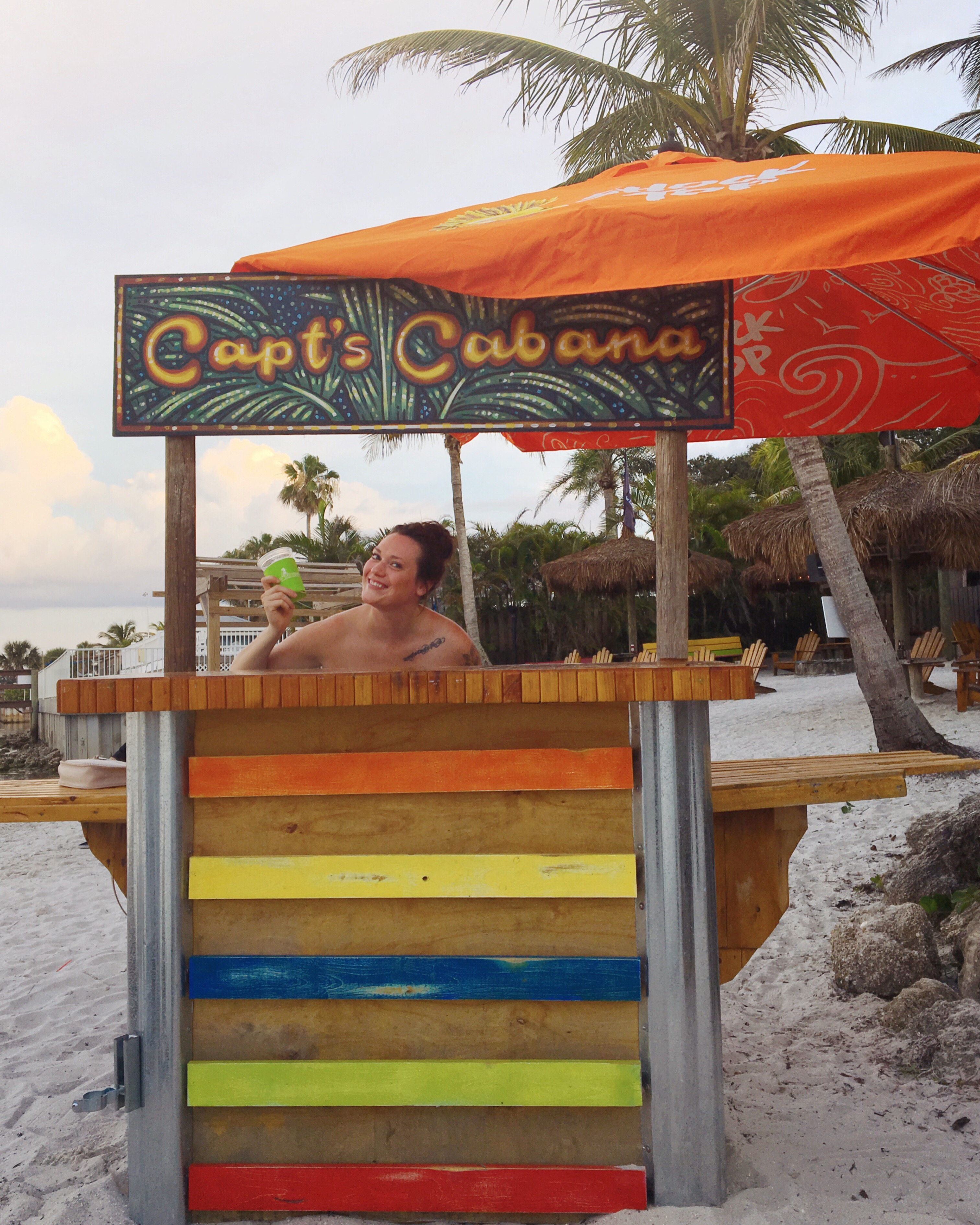 Captain Hiram Resort stall