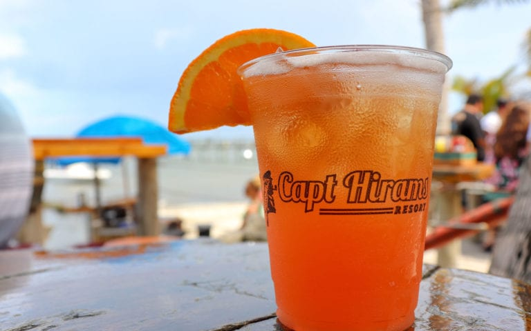 Captain Hiram Resort drink