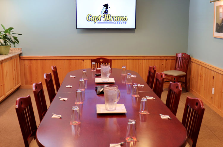 Captain Hiram Resort Corporate Group meeting