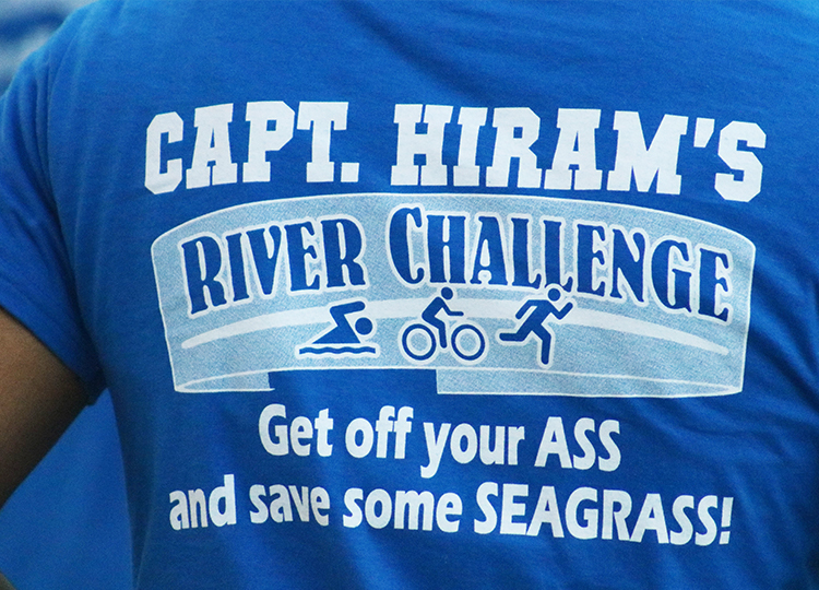 Capt. Hiram Triathlon Shirt